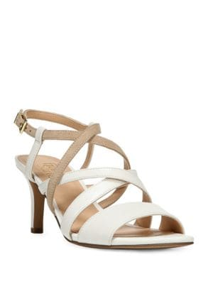 Olian Leather Slingback Sandals by Franco Sarto
