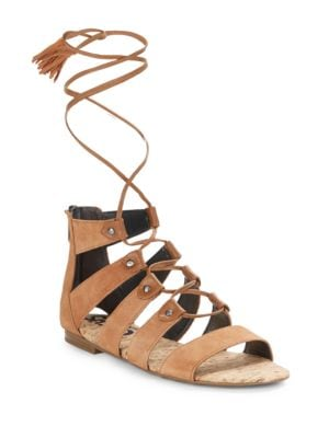 Gibson Suede Lace-Up Sandals by Circus by Sam Edelman