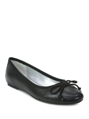 Syla Leather Ballet Flats...
