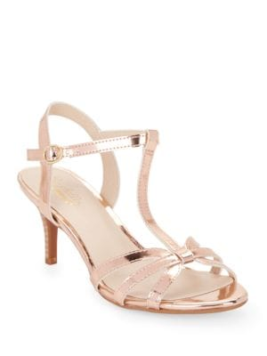 Splendid Metallic Caged Sandals by Seychelles