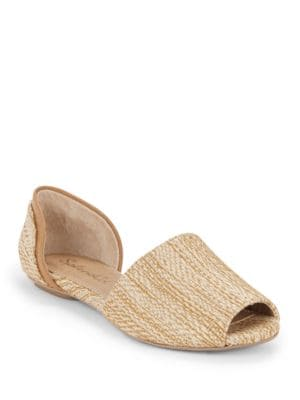 Akaron Open Toe Flats by Splendid