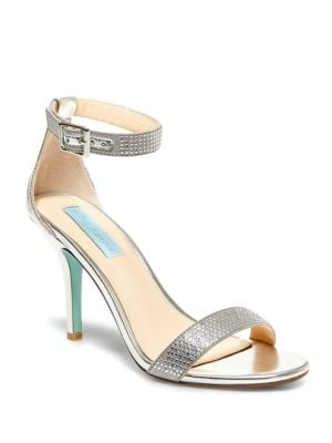 Shilo Satin Sandals by Betsey Johnson