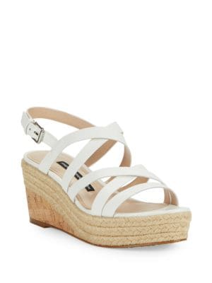 Liya Strappy Wedge Sandals by French Connection