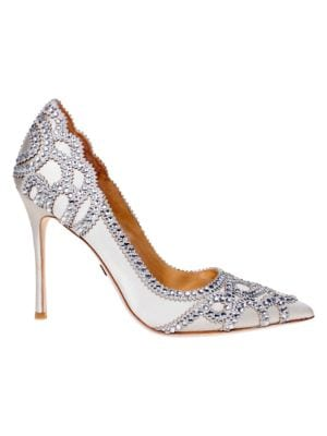 Rouge Embellished Pumps by Badgley Mischka