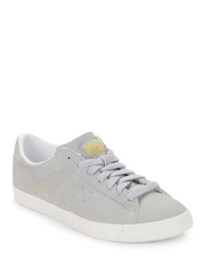 Lawnship Suede Lace-Up Sneakers by Asics