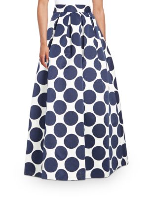 Dotted Maxi Skirt by Eliza J