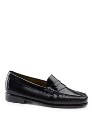Whitney Weejuns Leather Penny Loafers by G.H. Bass