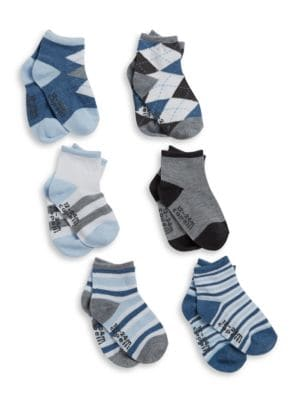 SixPack Mixed Patterned Socks Set