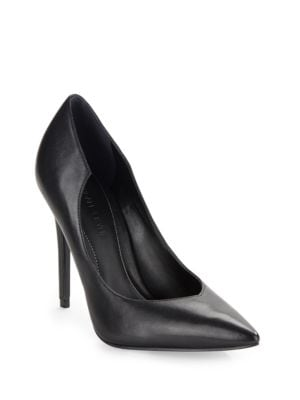 Abi Asymmetrical Leather Pumps by KENDALL + KYLIE