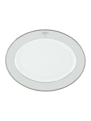 June Lane Oval Platter 16 in
