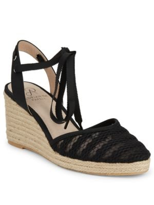 Penny Lace Wedge Sandals by Adrianna Papell