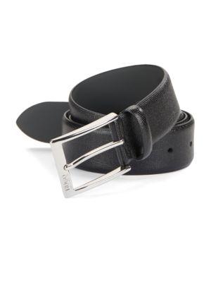 Textured Leather Belt...