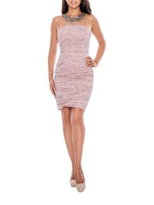 Crinkled Sheath Dress by Decode 1.8
