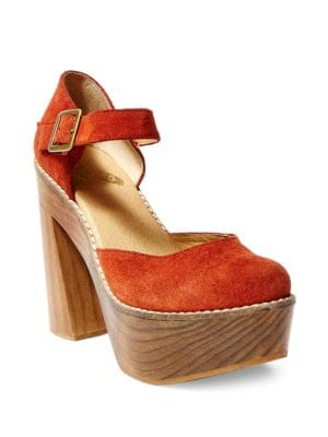 Poppy Suede Platforms by Freebird By Steven