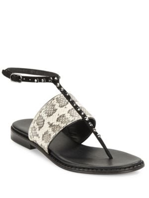 Lacy Thong Sandals by Donald J Pliner