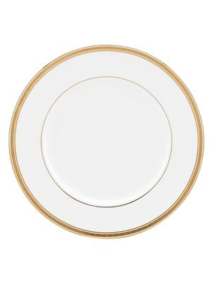 Oxford Place Bone China and 24K Gold Dinner Plate