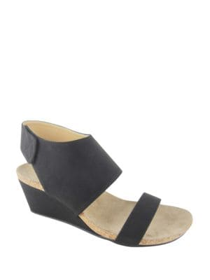 Transe Wedge Sandals by Adrienne Vittadini