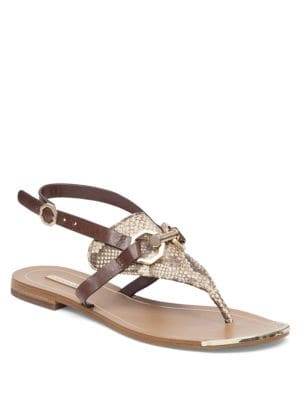 Rissa Leather Sandals by Louise et Cie