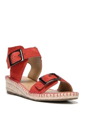 Latin Nubuck Sandals by Franco Sarto