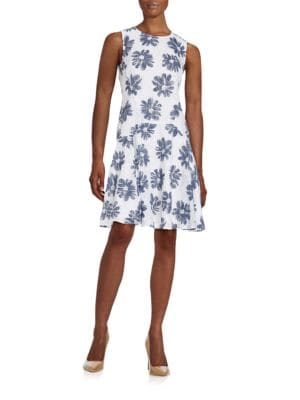Floral Drop Waist Dress by Tommy Hilfiger