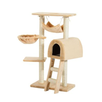 Deluxe Cat Scratching Tree Kitten Condo Play House (Home) photo