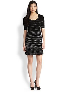 M Missoni - Space-Dyed Stretch Dress