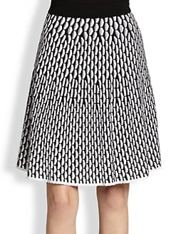 M Missoni - Fan-Stitch Skirt
