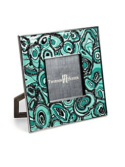 Thorson Hosier - Malachite-Pattern Picture Frame