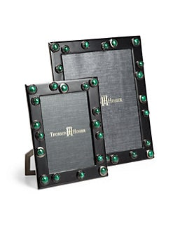Thorson Hosier - Malachite Cabochon Picture Frame