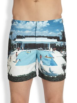 Orlebar Brown - Printed Swim Shorts