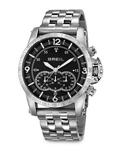 Breil - Stainless Steel Chronograph Watch