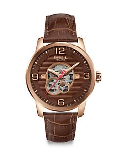 Breil - Automatic Rose-Gold Watch