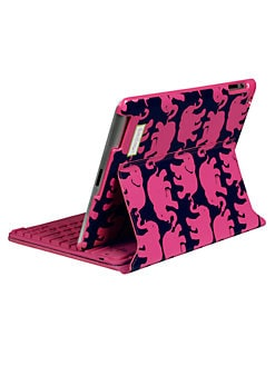 Lilly Pulitzer - Tusk In Sun Bluetooth Keyboard Case for iPad 2 & 3