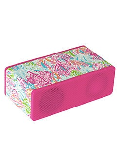 Lilly Pulitzer - Let's Cha Cha Wireless Bluetooth Speaker