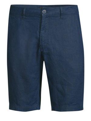 ONIA | Austin Linen Shorts | Goxip