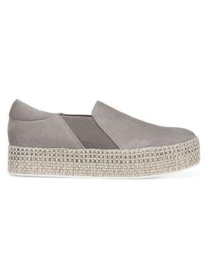 Wilden Suede Slip-On Espadrille Sneakers