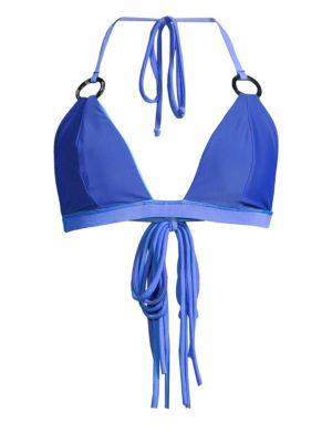 Keyhole Triangle Bikini Top