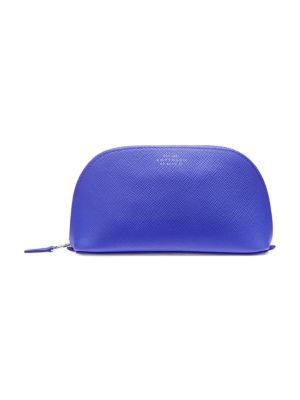 Panama Leather Cosmetics Pouch