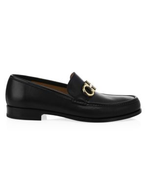 Rolo Reversible Leather Penny Loafers