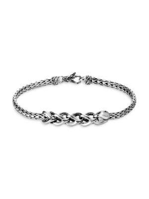 Classic Chain Silver Bracelet