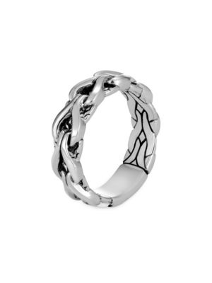 Asli Classic Chain 6MM Sterling Silver Band Ring