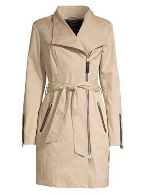 Estela Belted Trench Coat