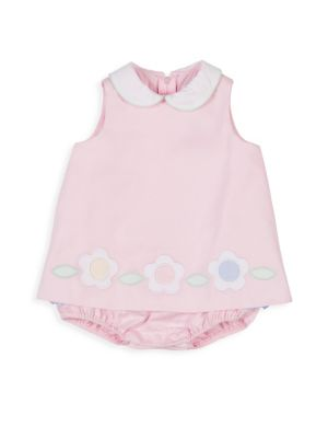 Baby Girl's Pique Bubble Dress