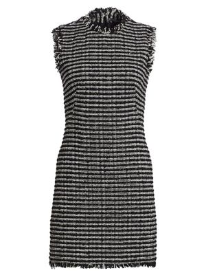 Tweed Pencil Mini Dress