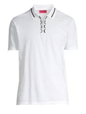 Dolmar Logo Zip Polo Shirt