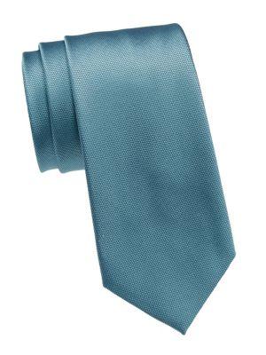Micro Square Silk Tie