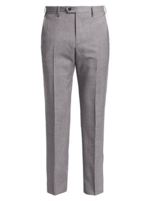 Soft Micro Wool Trousers