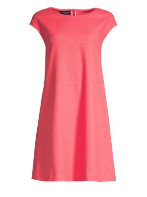 PIAZZA SEMPIONE   Cap Sleeve A-Line Dress   Goxip