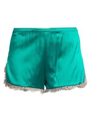 Lace Trim Tap Shorts