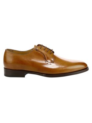 Fede Lace-Up Leather Dress Shoes